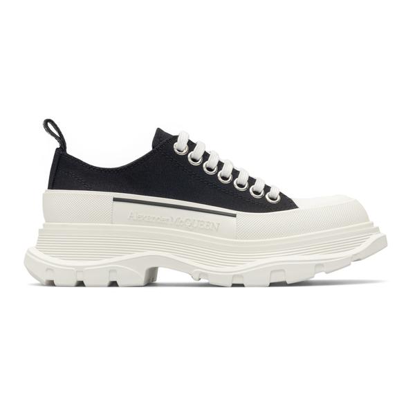 Sneakers nere con suola spessa a contrasto                                                                                                            Alexander Mcqueen 611705 retro
