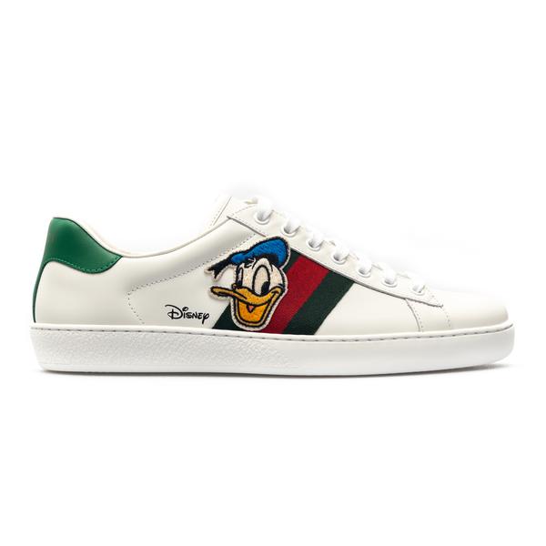 Sneakers con Paperino                                                                                                                                 Gucci 649399 retro