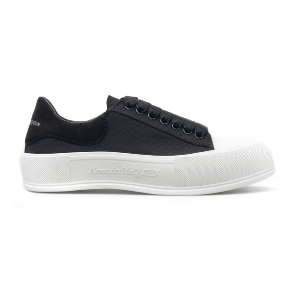 Black sneakers with oversized sole                                                                                                                    Alexander Mcqueen 654594 back