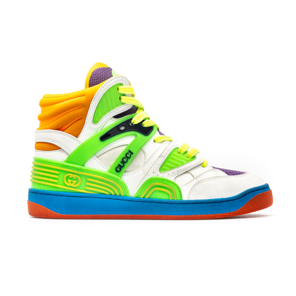 Multicolored sneakers with logo                                                                                                                       Gucci 661310 back
