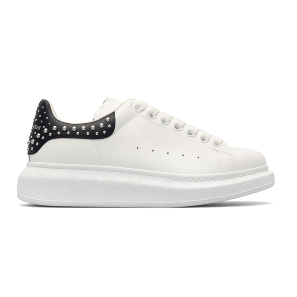 White sneakers with studs                                                                                                                             Alexander Mcqueen 666406 back