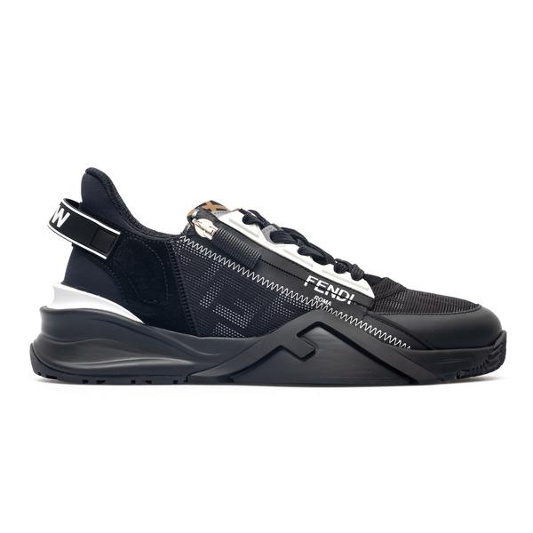 Sneakers nere con dettaglio a zip                                                                                                                     Fendi 7E1392 back