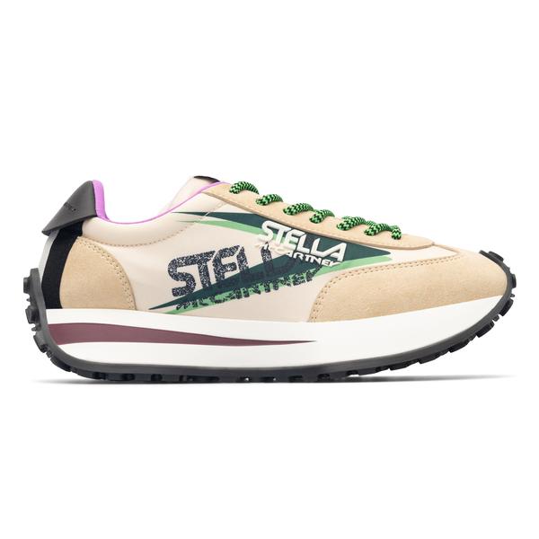 Sneakers in materiale 100% vegan                                                                                                                      Stella Mccartney 800418 retro
