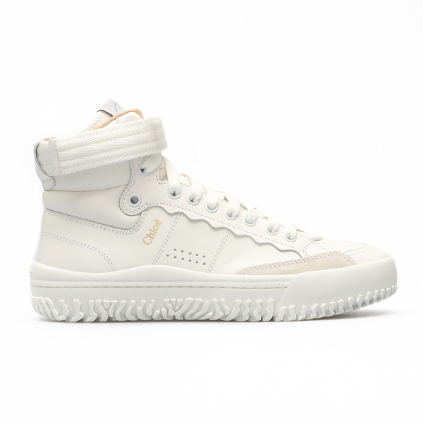 White sneakers with ankle strap                                                                                                                       Chloe' CHC20W392 back