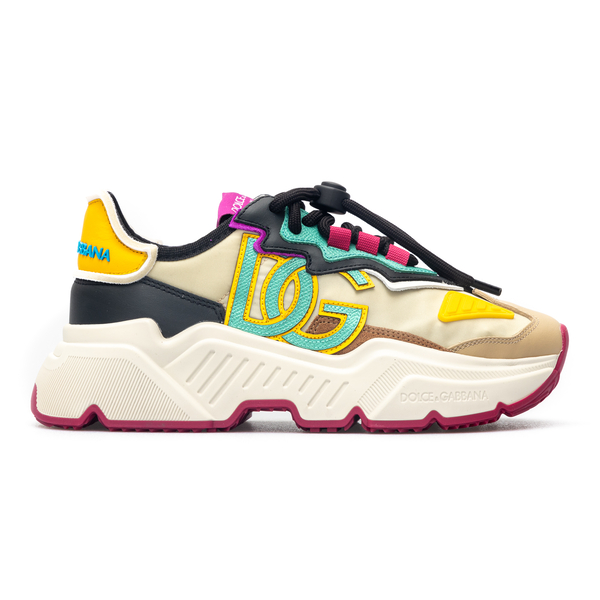 Multicolored high-top sneakers with logo                                                                                                              Dolce&gabbana CK1908 back
