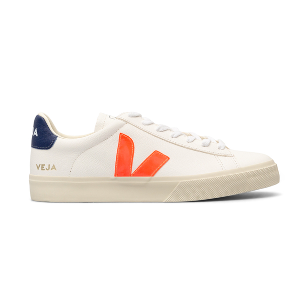 White sneakers with contrasting details                                                                                                               Veja CP052195 back