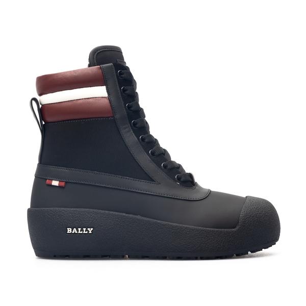 Black trekking style ankle boots                                                                                                                      Bally CROKERTW back