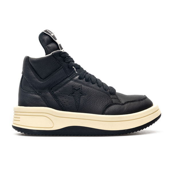 High leather sneakers with oversized tongue                                                                                                           Converse X Drkshdw DC02AX515 back