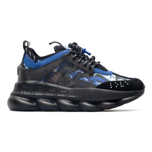 High black and blue sneakers                                                                                                                          Versace DSU7071E back