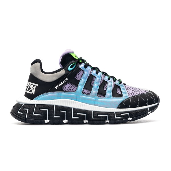 Multicolored sneakers with Greca pattern                                                                                                              Versace DSU8094 front
