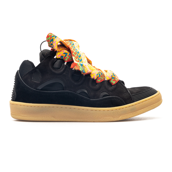Sneakers with suede details                                                                                                                           Lanvin FMSKRK11 back