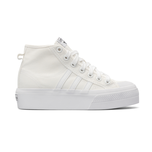 High white sneakers with logo                                                                                                                         Adidas Originals FY2782 back