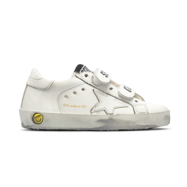 White sneakers with logo on the strap                                                                                                                 Golden Goose GJF00111 back