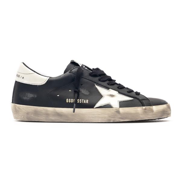 Sneakers nere in effetto vissuto                                                                                                                      Golden Goose GMF00101 retro