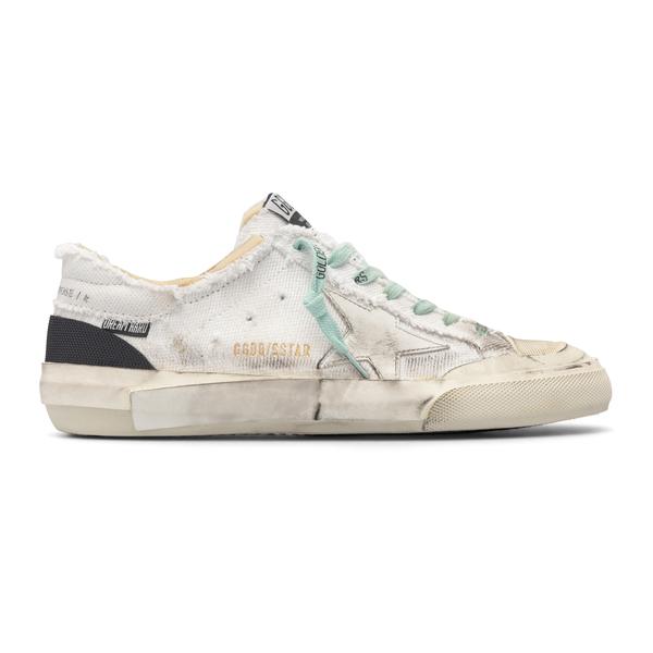 Sneakers bianche in effetto vissuto                                                                                                                   Golden Goose GMF00175 retro