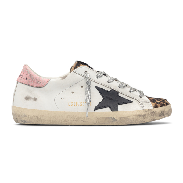 White sneakers with animalier detail                                                                                                                  Golden Goose GWF00101 back
