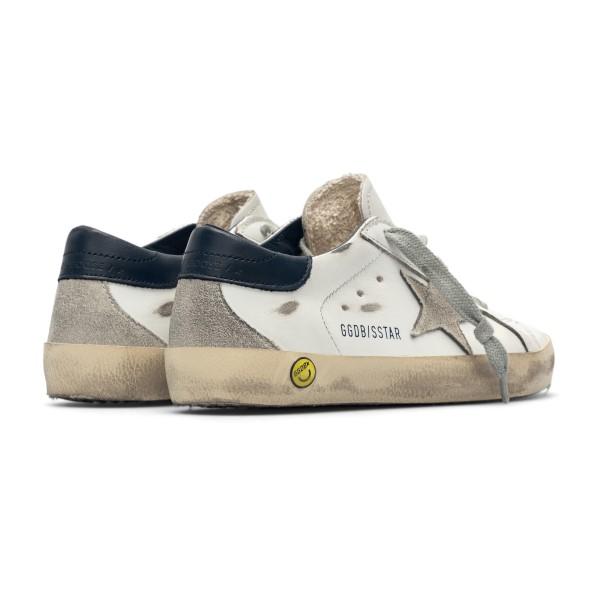 White sneakers with black heel                                                                                                                         GOLDEN GOOSE
