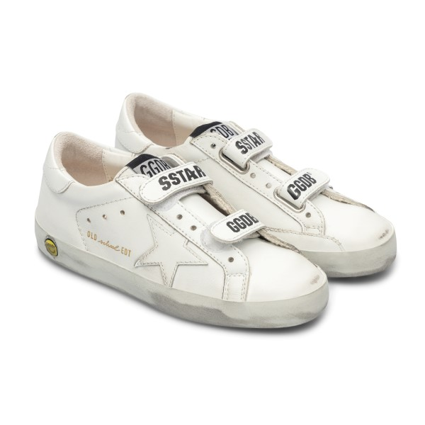 White sneakers with smile                                                                                                                              GOLDEN GOOSE