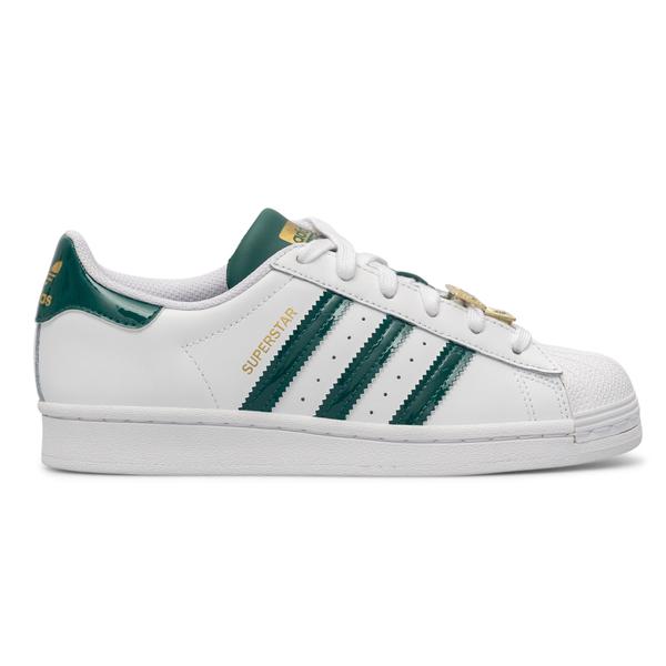 Sneakers bianche con applicazione dorata                                                                                                              Adidas Originals H03909 retro