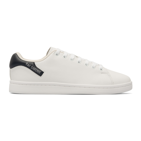 White sneakers with contrasting heel                                                                                                                  Raf Simons HR760001S back