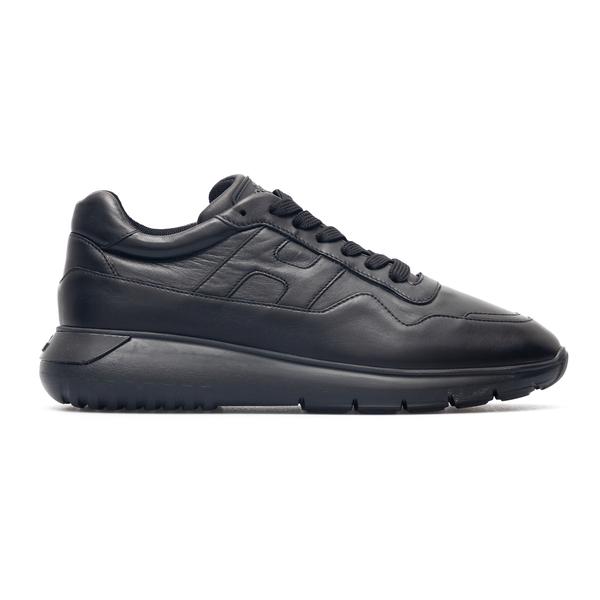 Sneakers nere con logo a tono                                                                                                                         Hogan HXM3710CP50 retro