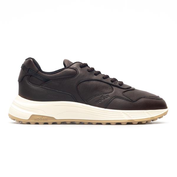 Sneakers nere con suola a contrasto                                                                                                                   Hogan                                              HXM5630DM90 retro