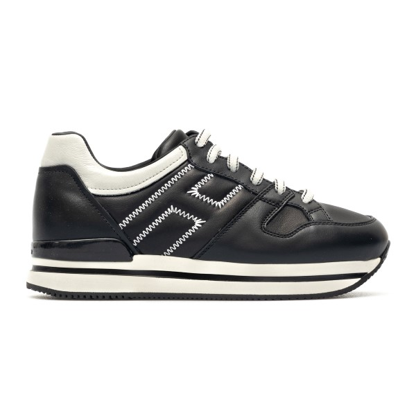 Black sneakers with white details                                                                                                                     Hogan HXW2220DL90 back