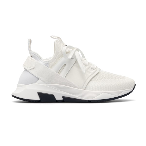 White sneakers with band                                                                                                                              Tom ford J1100T front