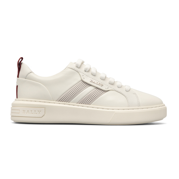 White sneakers with side logo                                                                                                                         Bally MAXIMW back
