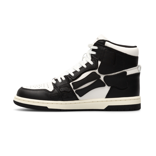Black and white two-tone high sneakers                                                                                                                Amiri MFS002 back