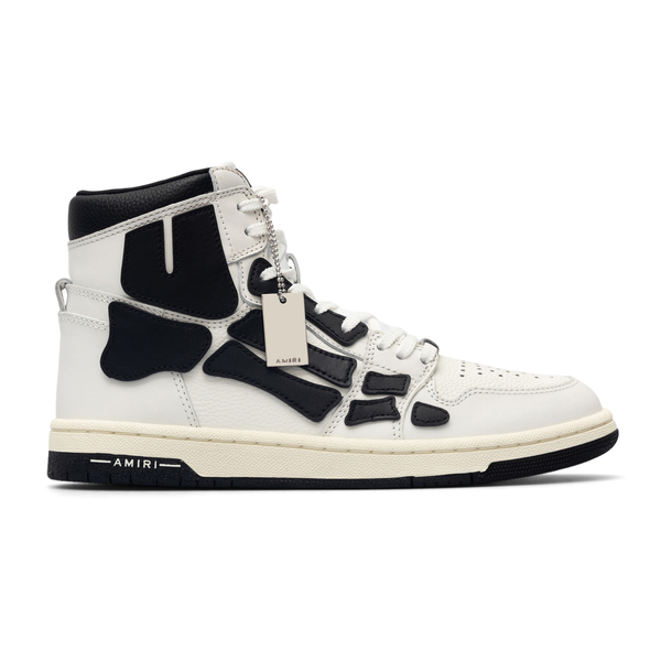 White alter sneakers with applications                                                                                                                Amiri MFS002 back