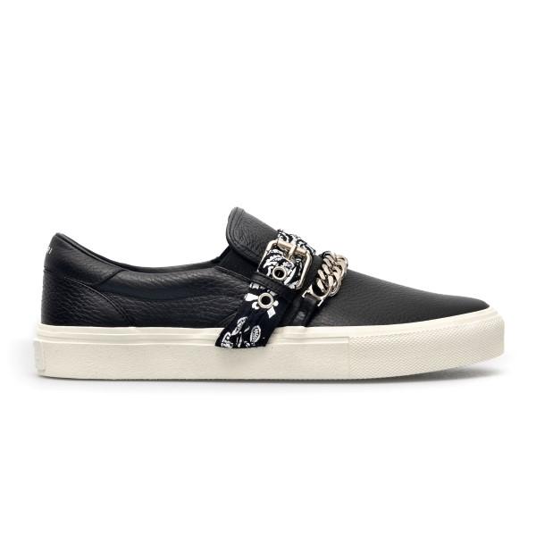 Sneakers nere con catena                                                                                                                              Amiri MFS005 fronte