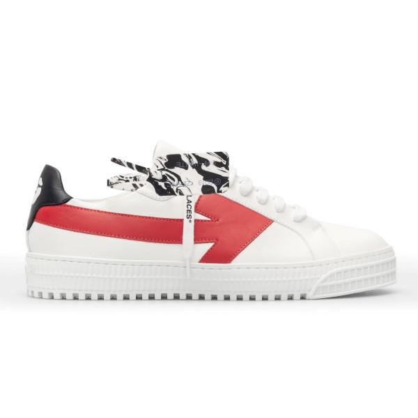 Sneakers bianche con freccia                                                                                                                          Off white OMIA177R21LEA001 fronte