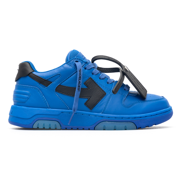 Blue sneakers with arrow                                                                                                                              Off White OMIA189F21LEA002 back