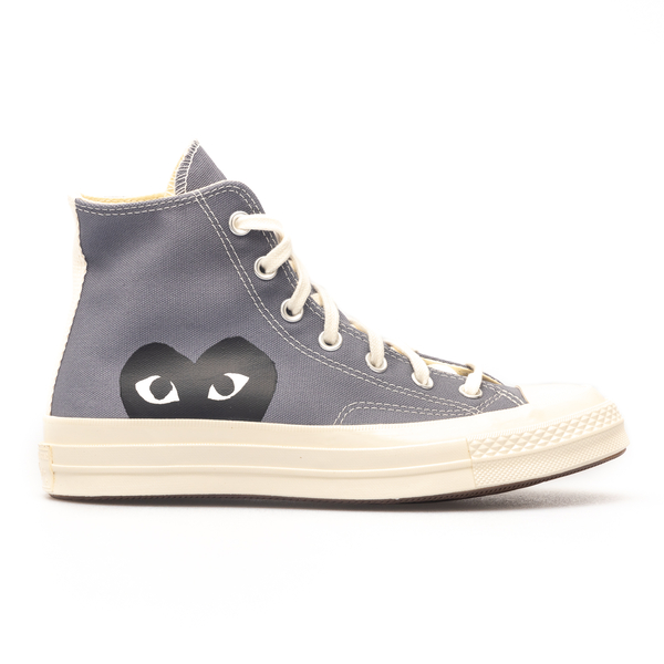 Sneakers in canvas                                                                                                                                    Comme Des Garcons Play P1K122 retro