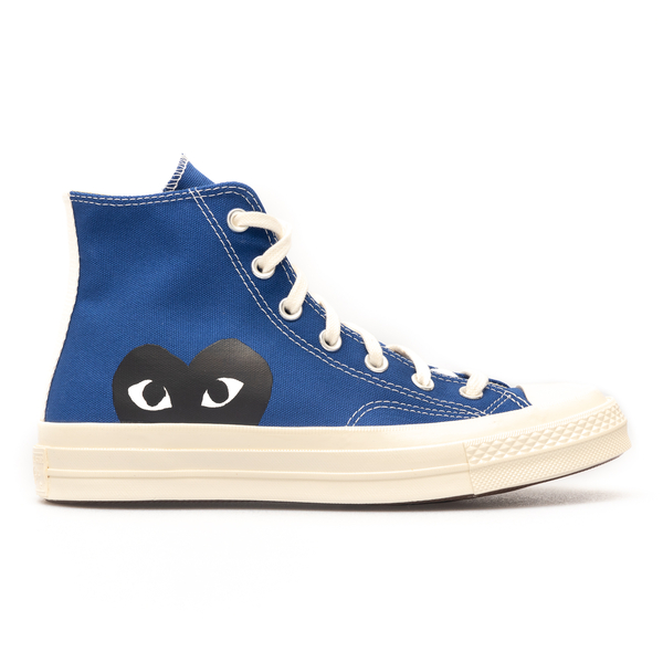 High blue sneakers with heart                                                                                                                         Comme Des Garcons Play P1K122 back