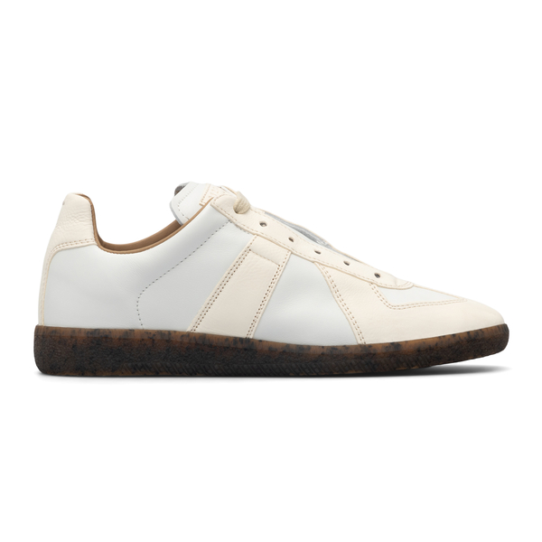 White sneakers with contrasting sole                                                                                                                  Maison Margiela S58WS0198 back