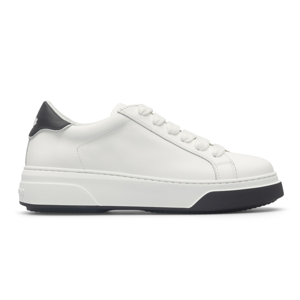 White sneakers with logo                                                                                                                              Dsquared2 SNW0146 back