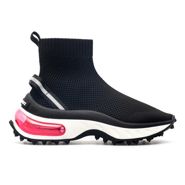 Sneakers con gambale in maglia                                                                                                                        Dsquared2 SNW0155 retro
