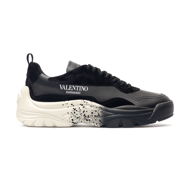 Black sneakers with shaded sole                                                                                                                       Valentino Garavani VY0S0B17 back