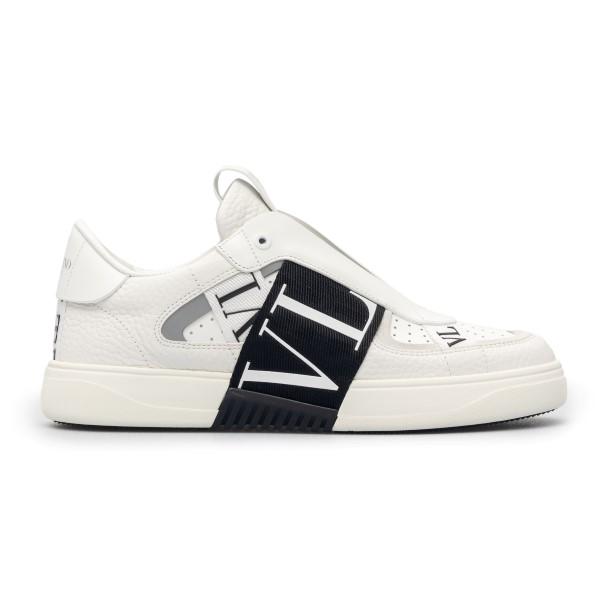 Sneakers bianche slip-on con logo                                                                                                                     Valentino garavani VY2S0E02 fronte