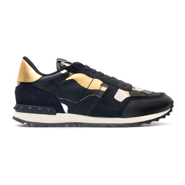 Sneaker color-block con dettagli                                                                                                                      Valentino Garavani WY0S0723 retro