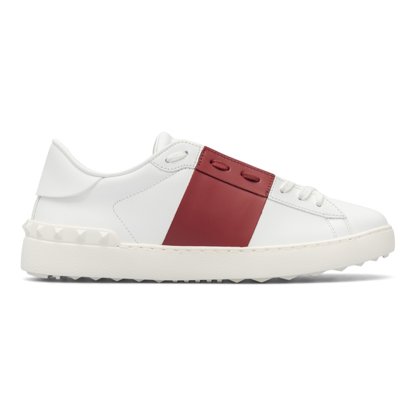 White sneakers with red band                                                                                                                          Valentino Garavani WY2S0830 back