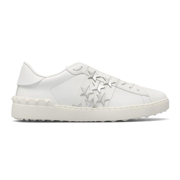 Sneakers bianche con stelle                                                                                                                           Valentino Garavani WY2S0830 retro