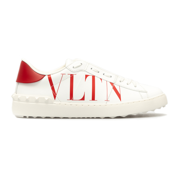 White sneakers with contrasting heel                                                                                                                  Valentino Garavani WY2S0830 back