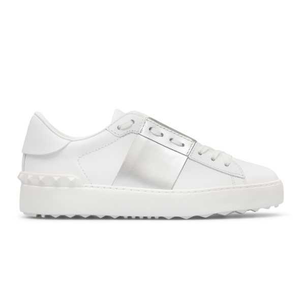 White sneakers with silver band                                                                                                                       Valentino Garavani WY2S0830 back