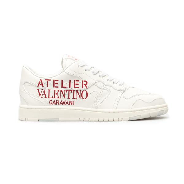 White sneakers with brand name                                                                                                                        Valentino Garavani WY2S0E73 back