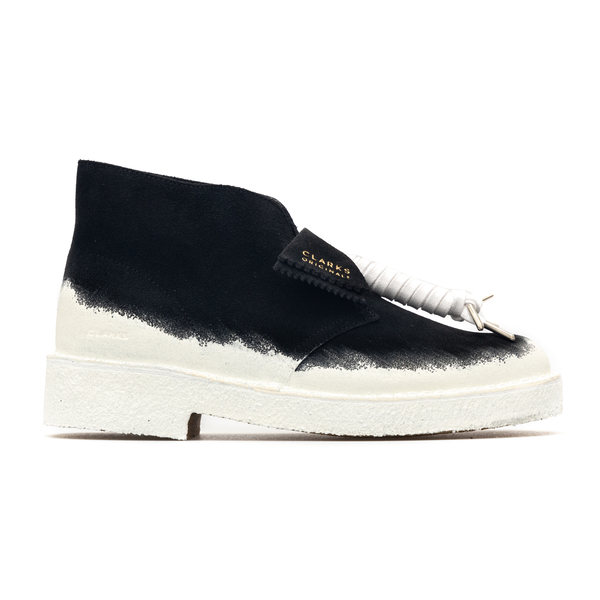 Black and white lace-ups                                                                                                                              Clarks Originals 261624247 back