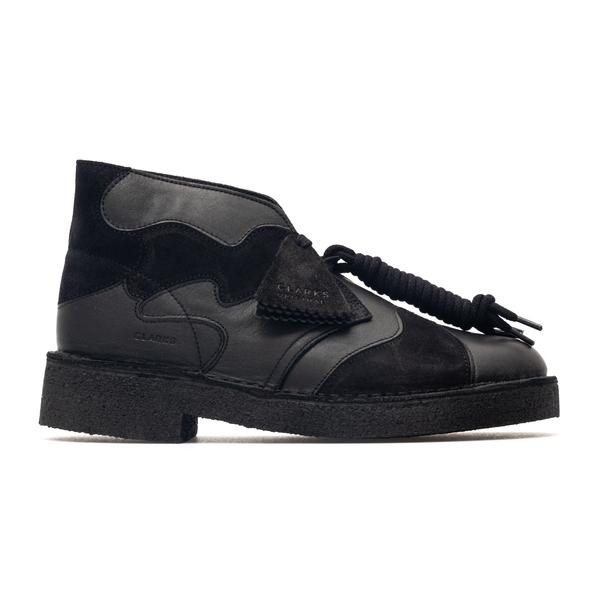 Black lace-up with suede details                                                                                                                      Clarks Originals 261639537 back