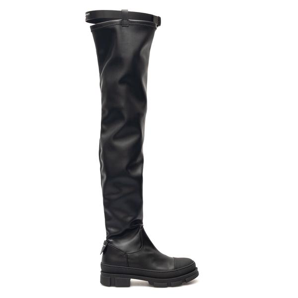 Stivali neri in altezza sopra al ginocchio                                                                                                            Philosophy 3202 retro